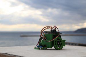 El robot Renacuajo.
