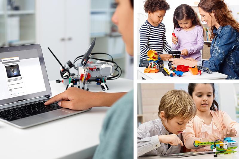 LEGO Education, kits ideales para aprender y jugar en familia