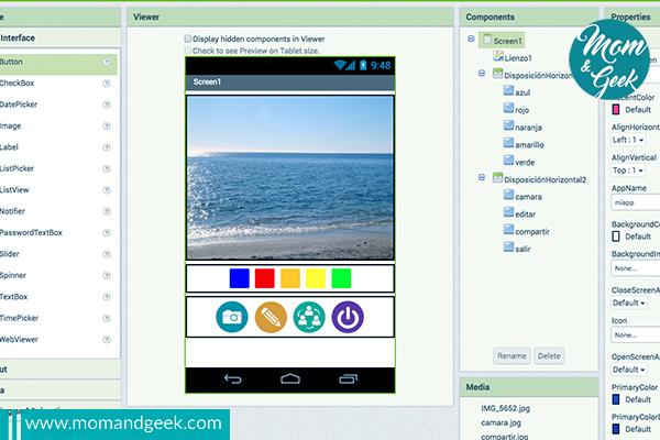 Haciendo una aplicación de dibujo para mi dispositivo móvil con App Inventor (I)