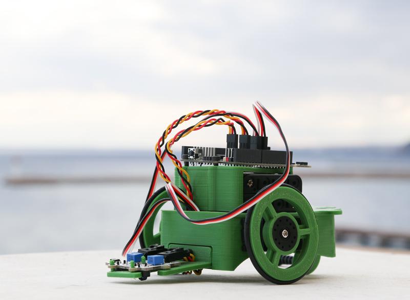 Un robot llamado Renacuajo (II parte)